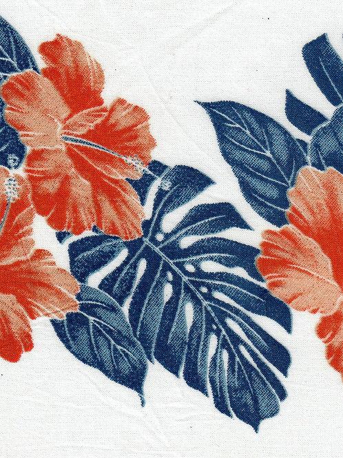 SATURN PANTS IN HIBISCUS FLOWER