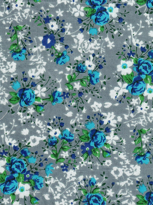 HERITAGE MOON GOWN 1:1 BLUE ROSE