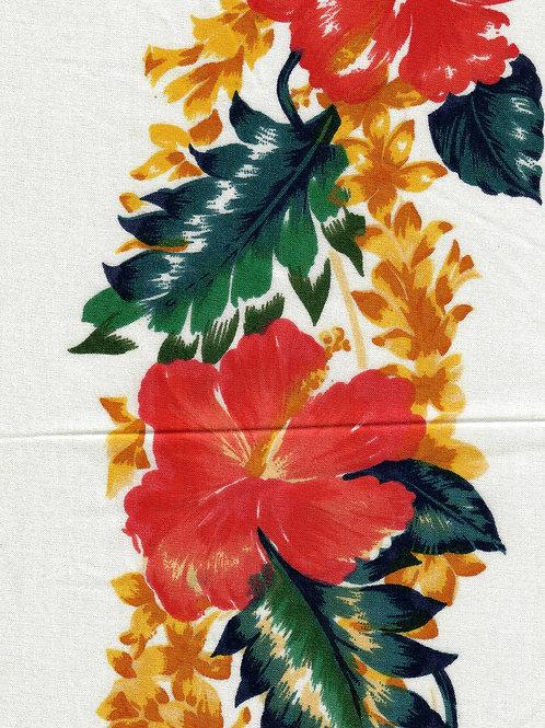 HERITAGE MOON GOWN 1:1 WHITE FLOWER TRIM