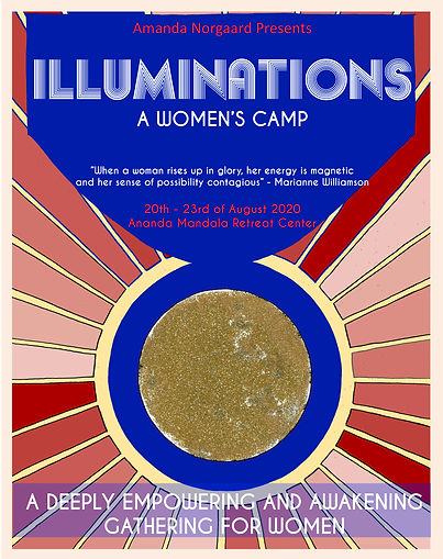 illuminations flyer Womens camp august 2