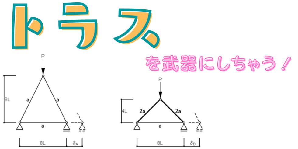 4/10(土)19:00~(90分程度)『トラス』の力学計算問題攻略セミナー