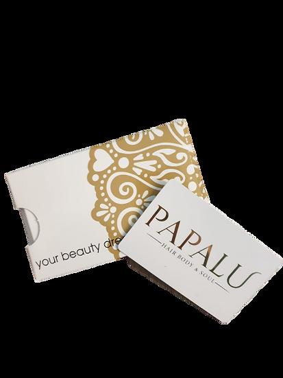 GIFT CARD PAPALU