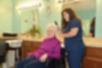 Beauty Shop services at South Hampton Nursing and Rehabilitation in Owens Cross Roads, Alabama
