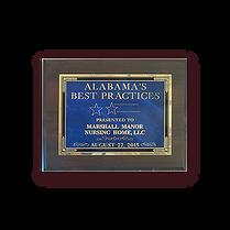 Marshall Manor Bronze Award Commitment to Quality