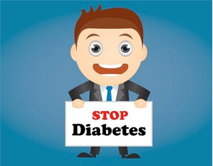 Stop Diabetes. Today is Diabetes Alert Day!