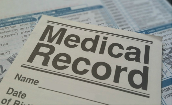 Medical Records form