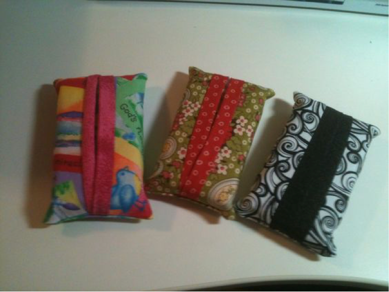 tissue holders with fun designs