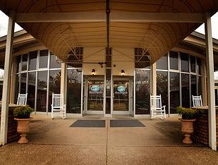 Mitchell-Hollingsworth Nursing and Rehabilitation Center entrance