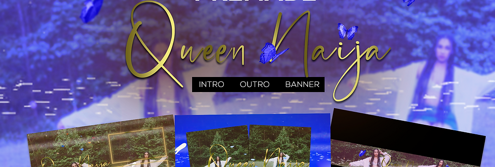 Queen Naija Full Project (Royal Blue)