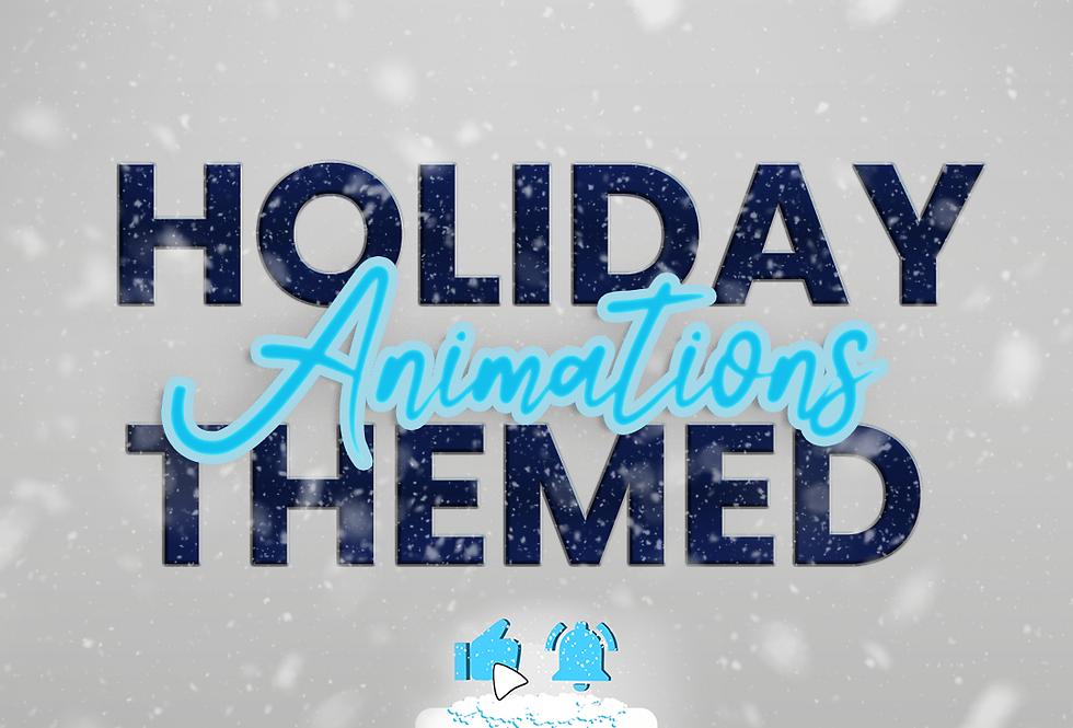 Holiday Themed Animation & Overlays