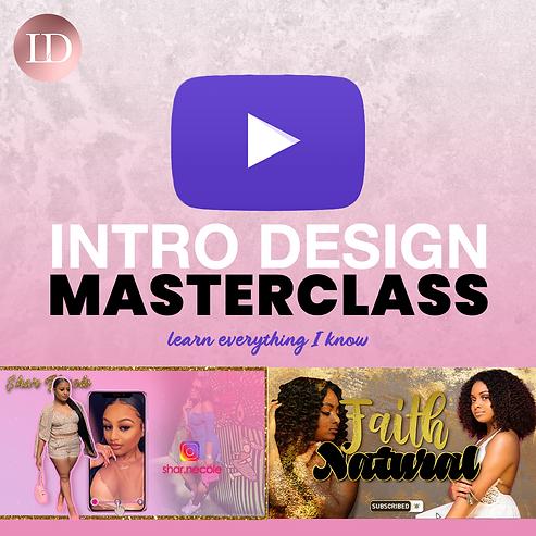 Intro Design Masterclass