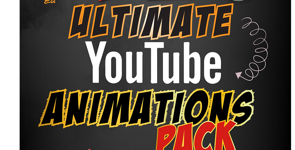 Ultimate Youtube Animations Pack