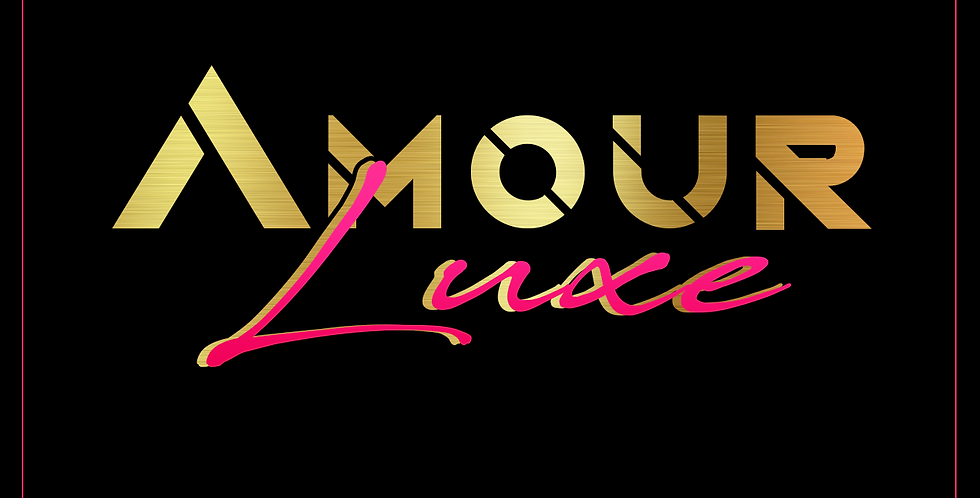 Amour Luxe Premade Logo