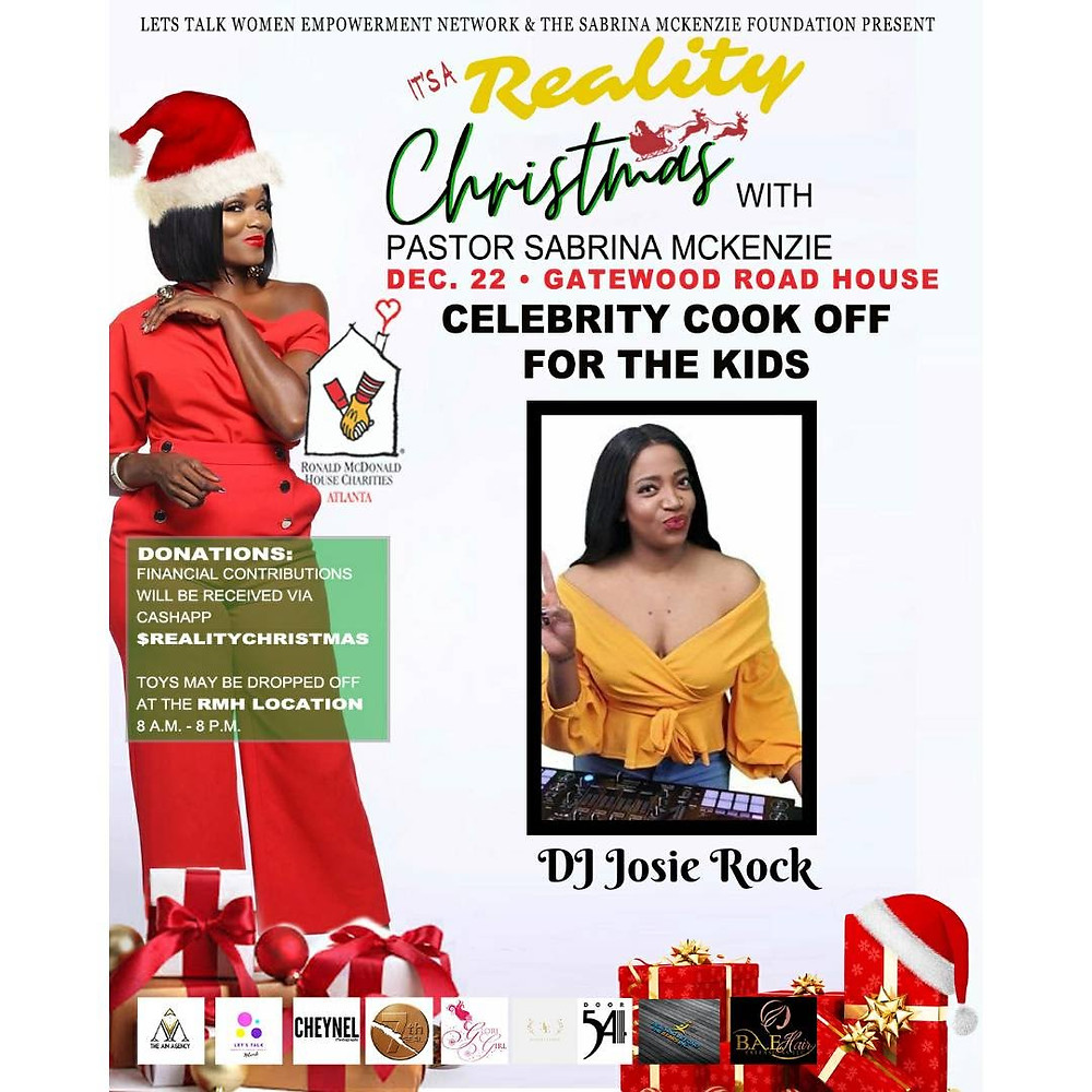 It's a Reality Christmas Celebrity Cook Off 2019