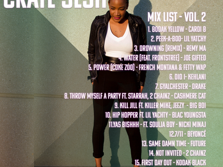 Mix List for Crate Sesh Vol. 2 Revealed