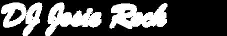 DJ Josie Rock White Logo 1106 x 106.png