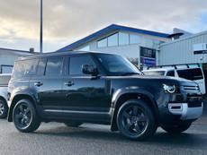 Land Rover Defender 2021 tinting Suntek