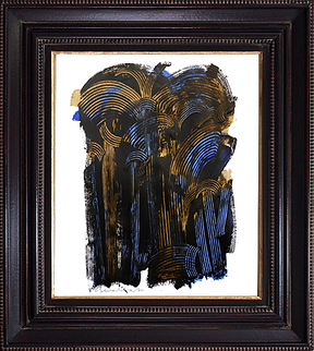 Bernard DUVERT - Sans Titre - Acrylique sur papier - SBG - 65 x 50 cm - 2015 - 2015339