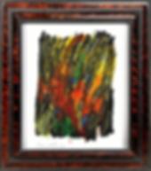 Bernard DUVERT - Sans Titre - Pastel gras sur papier - SBG - 65 x 50 cm - 2015 - 2015338