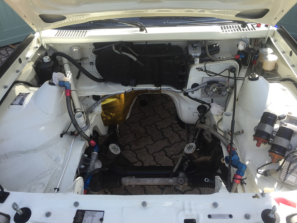 Nettoyage compartiment moteur KADET rallye