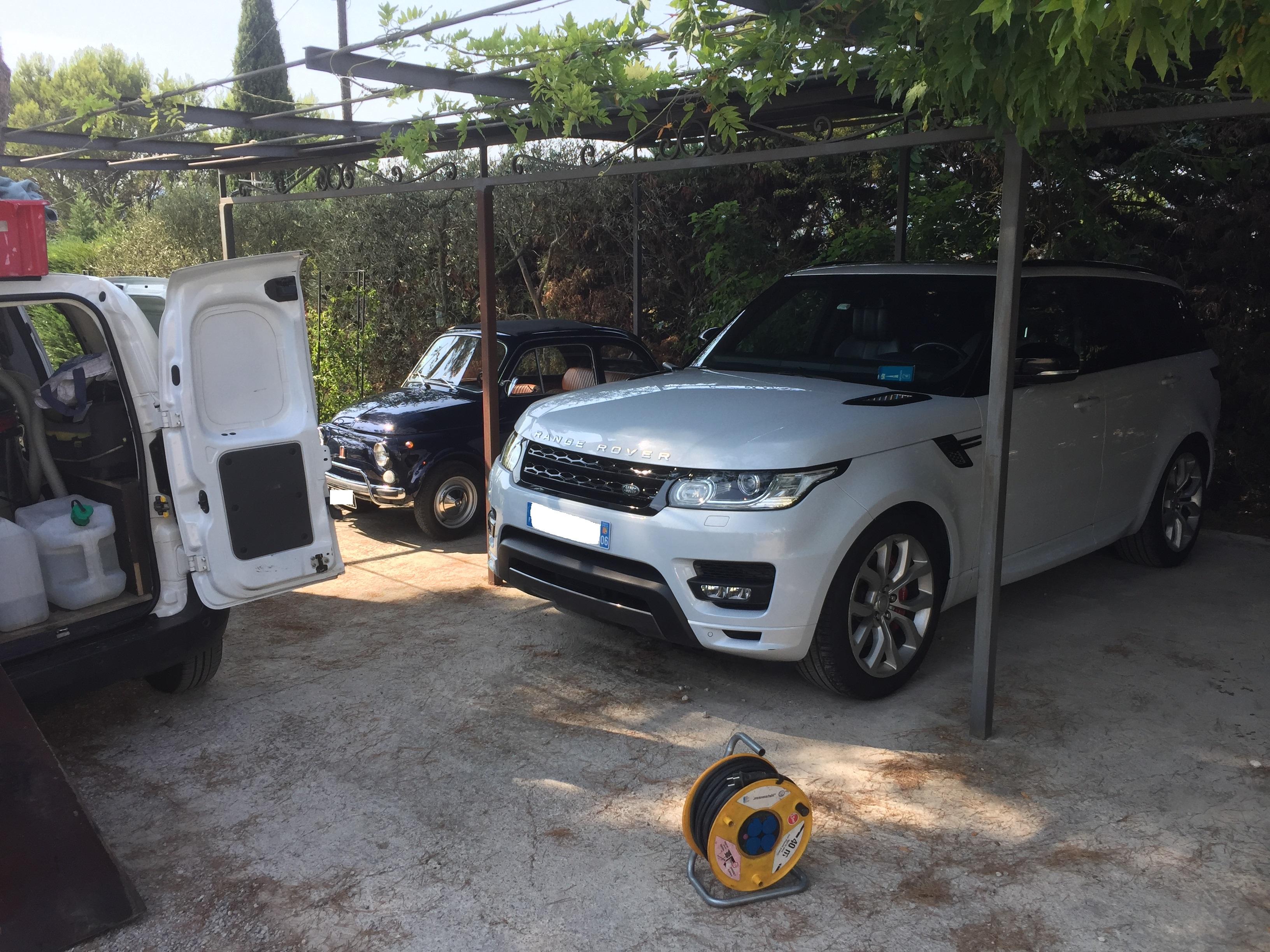 Nettoyage véhicules à domicile