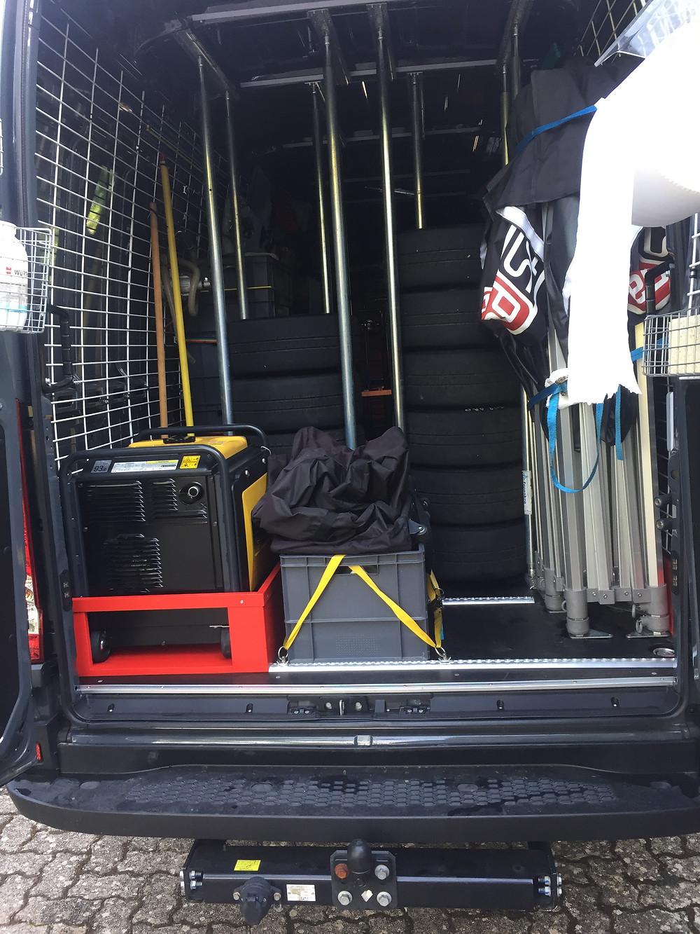 Nettoyage camion atelier & équipement à la vapeur