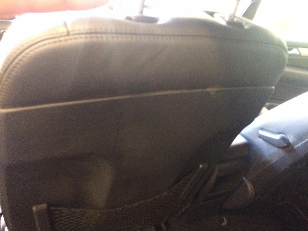Dossier arrière après nettoyage vapeur