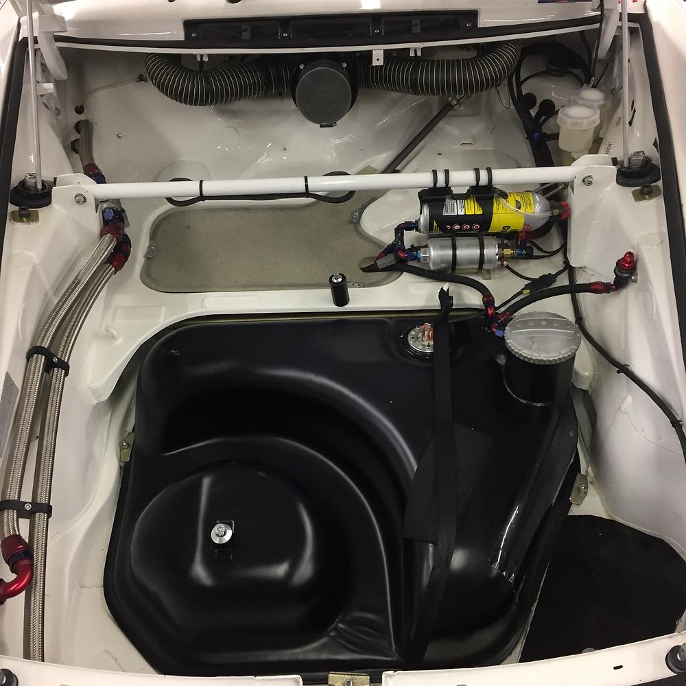 Nettoyage compartiments moteur