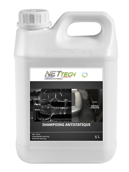 SHAMPOING AUTO ANTISTATIQUE - NET TECH (5L)