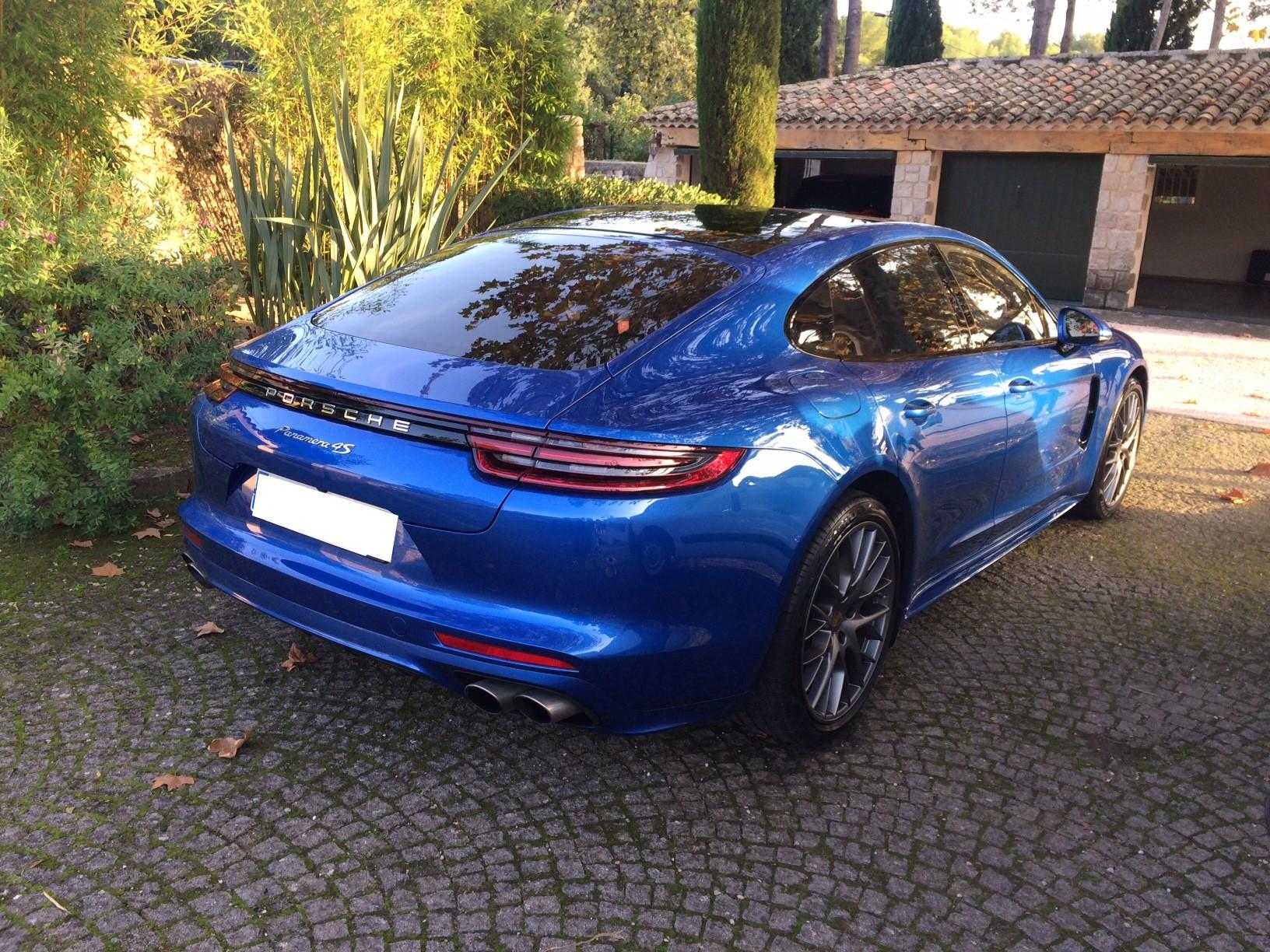Lustrage Porsche