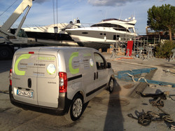 Nettoyage yacht