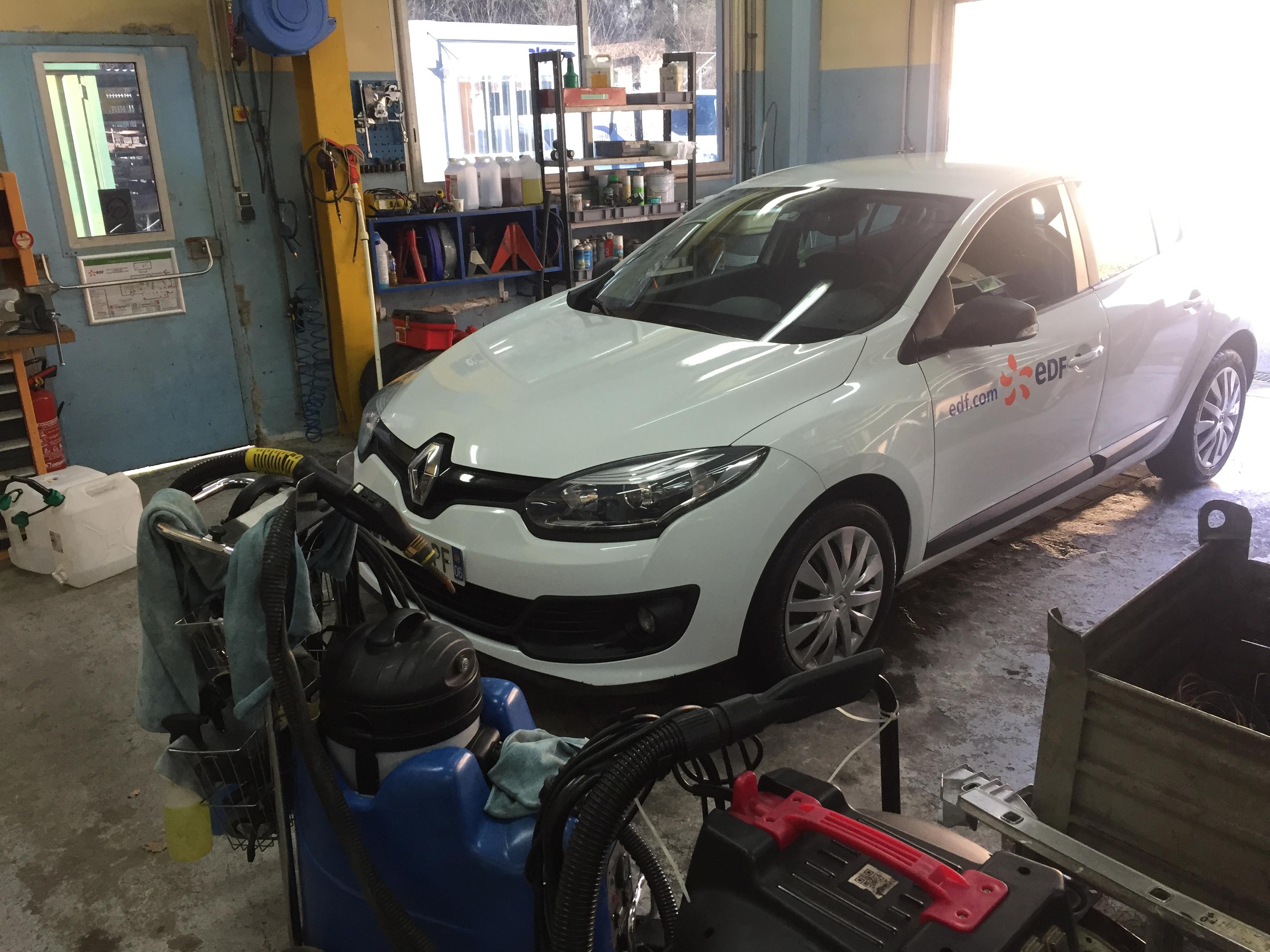 Nettoyage véhicules en entreprise
