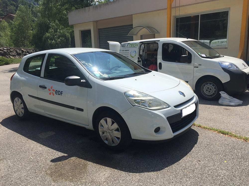 Nettoyage & contrôles des véhicules en entreprise