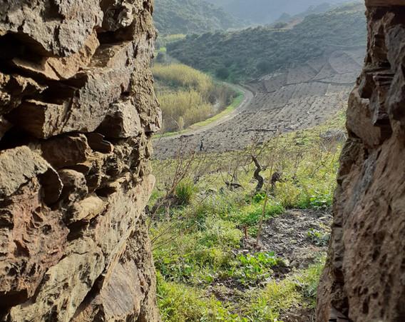 Vue de Puig del Grec, depuis l'orri