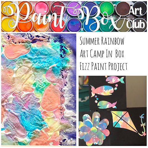 Fizzy Paint Kit - 2 day project