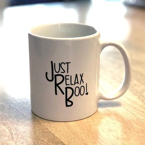 Just Relax Boo Mug