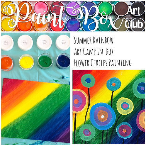 Canvas Flower Painting Kit