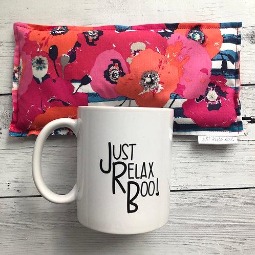Poppies Spa Pack Mug Gift Set
