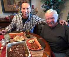 "My uncle, Bob Johnston visited Kentucky in 2017 and gave me the ""thumbs up"" for our Texas-style BBQ and southern sides."