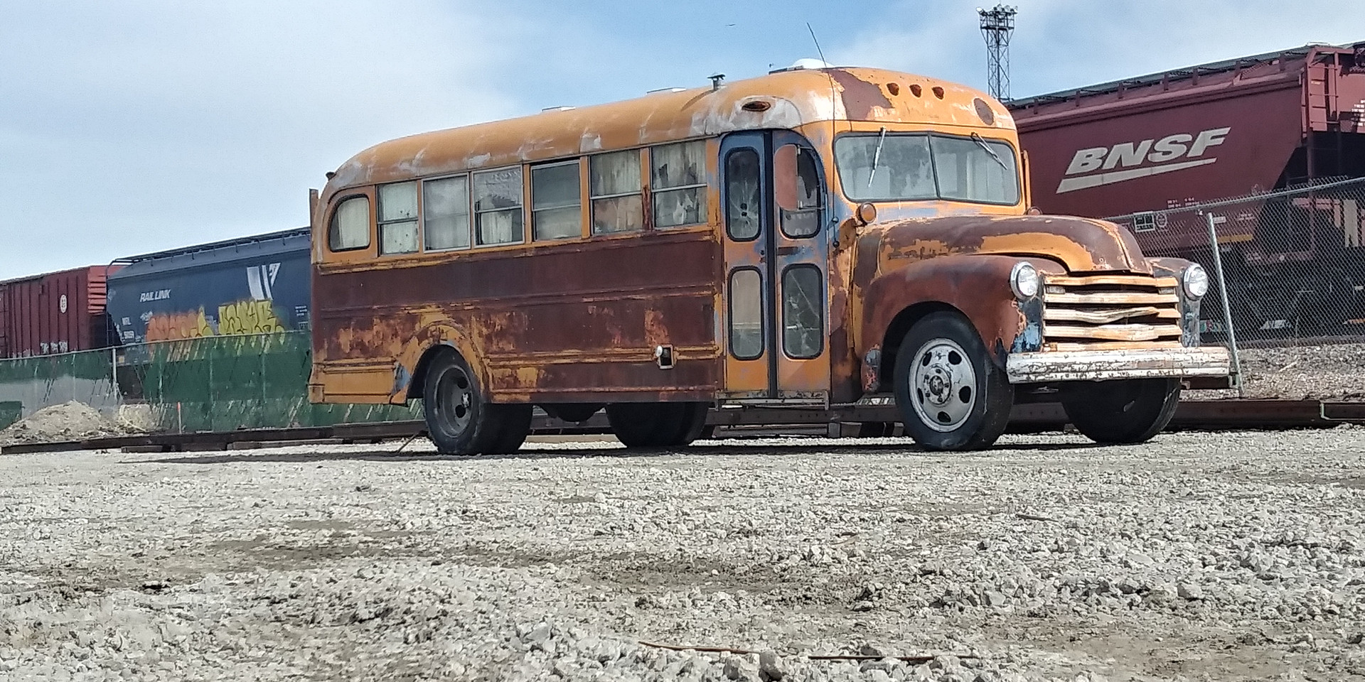 1951 Chevy Cool Bus