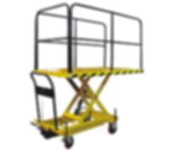 Scissor Truck Handrail