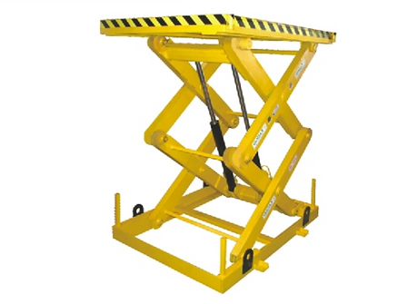 Scissor Lift Pit Mounted