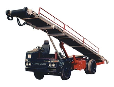 Airport Ground Support Equipment, Luggage Loader