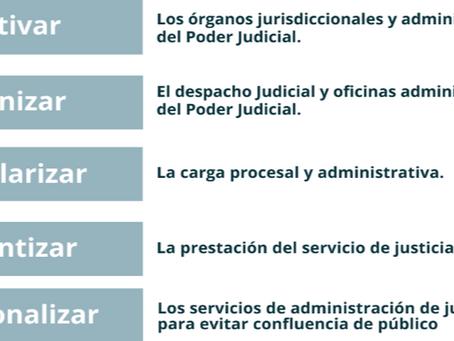 ¿CÓMO SERÁN LAS MEDIDAS DE REACTIVACIÓN (POSTCUARENTENA) DEL PODER JUDICIAL PERUANO?