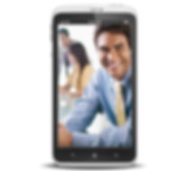 Smart Phone mit Berufsmann