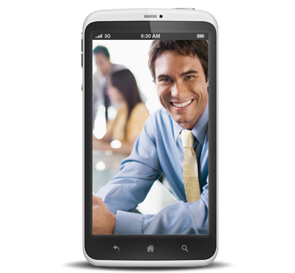 Smart Phone with Professional Man