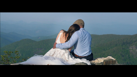 Elopement Wedding Video at Fred W. Symmes Chapel / Devil's Courthouse / Asheville