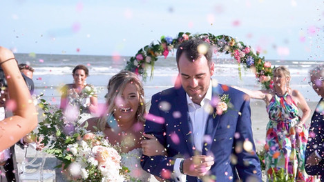 Elopement Wedding Video at Fripp Island, SC