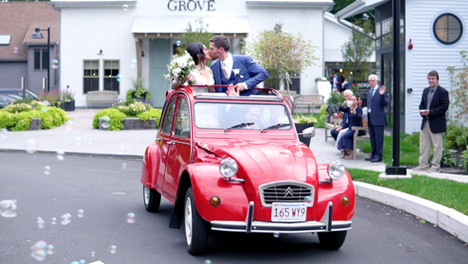 Wedding Video at Briar Barn Inn.Rowley, Massachusetts