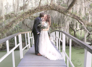 Elopement Wedding Video at Magnolia Plantation, Charleston SC